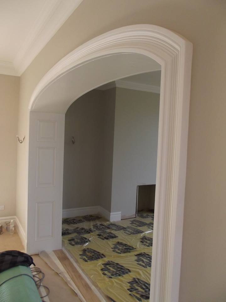 Architrave archway cheshire coving north west for Decorative archway mouldings